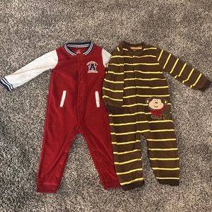 Carter's - Two 24 month boy fleece outfits